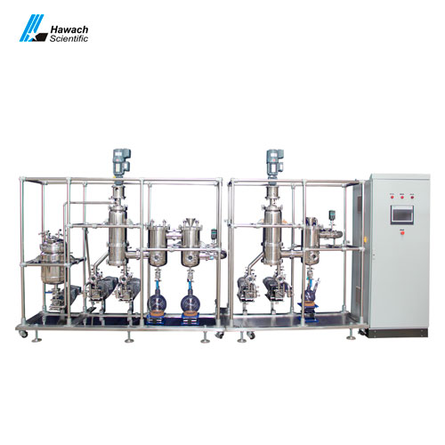 Double-Stage Stainless Steel Molecular Distillation