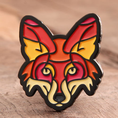 Fox Soft Enamel Pins