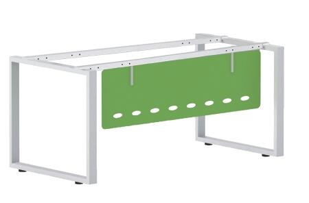 1 person office workstation the leg structure 30x60 steel tube