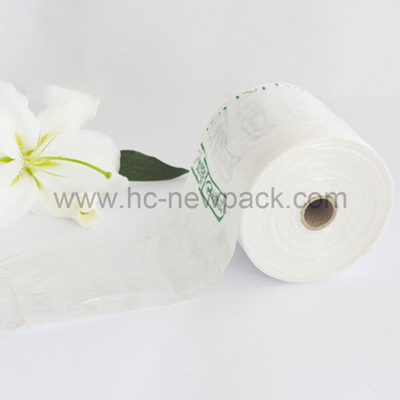 Hdpe/Ldpe C-flod-T-shirt-Bags-on-Roll