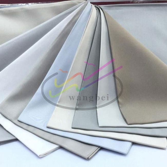 White and dyed 100% Polyester Arabian robes fabric