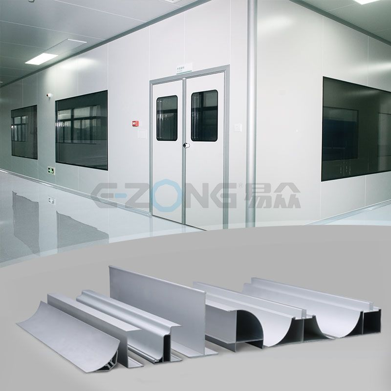 Cleanroom Aluminum Profile & Parts