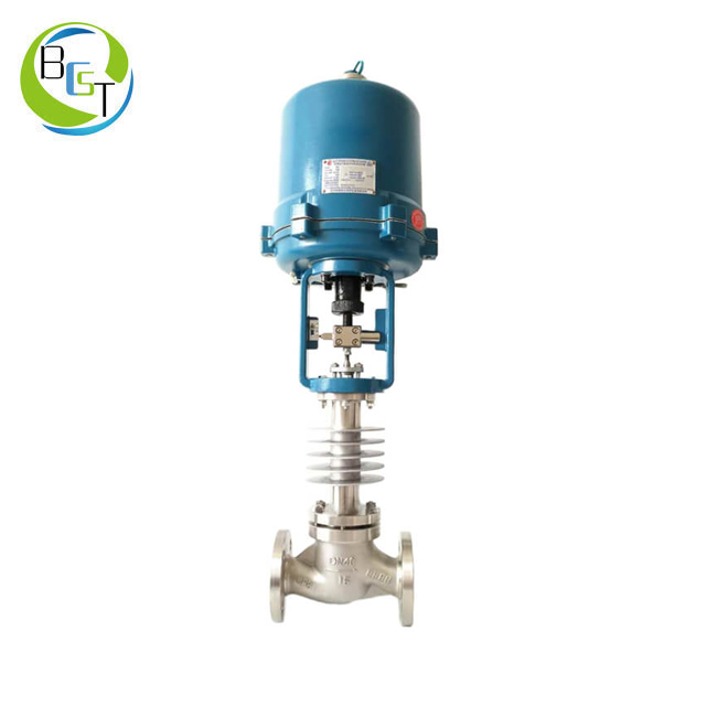 ZWZP Electric High Temperature Steam Globe Control Valve