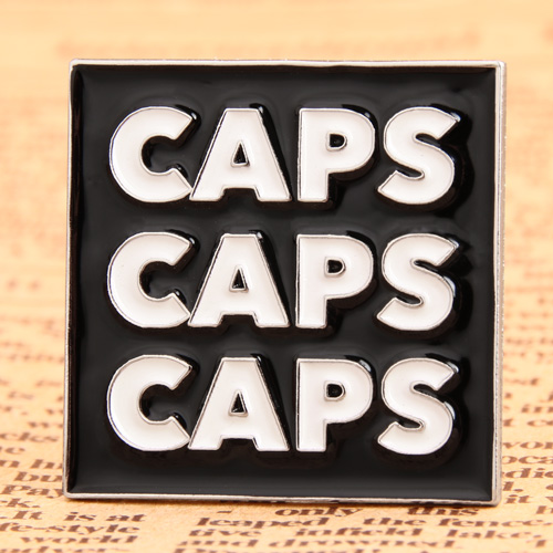 Caps Custom Enamel Pins