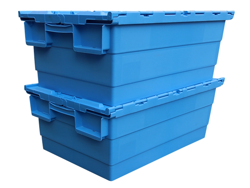 plastic turnover box/plastic foldable box