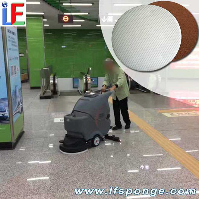 lfsponge subway stations ground deep cleaning melamine pads nano sponge floor polisher  pad