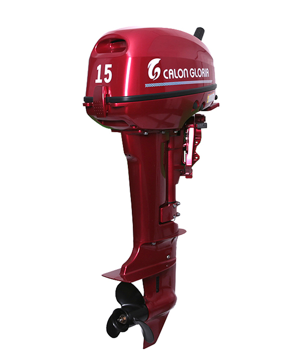 15HP OUTBOARD MOTOR (RED), 40hp enduro outboard motor,2-stroke outboard motor 3.5hp supplier