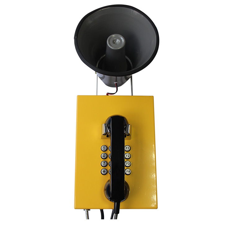 Outdoor emergency telephone waterproof wall mounted analog telephone