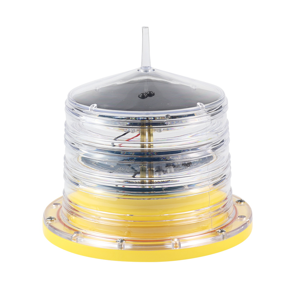 Hot sell high quality 4nm Integrated solar buoy light, waterway light