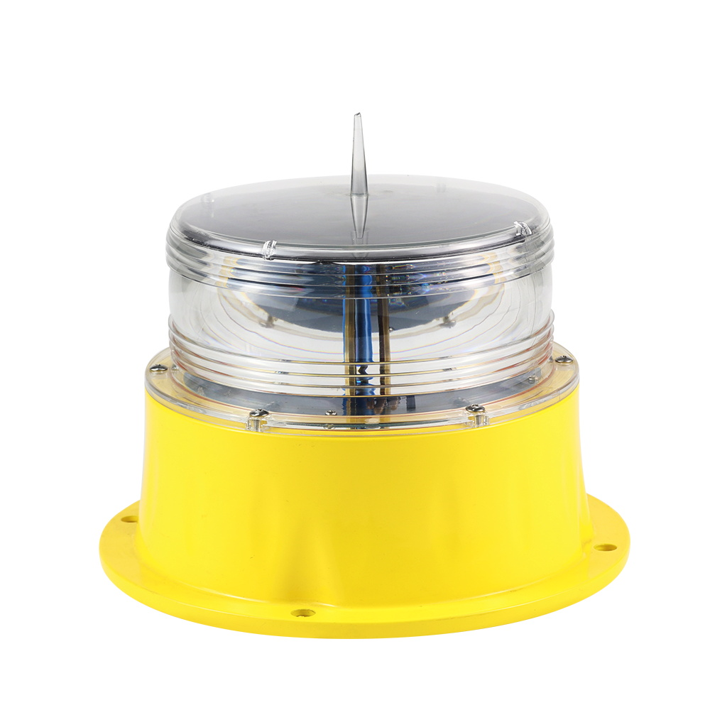 GS-LS/H self contain 350 light pattern solar navigation light for ship/vessel/ferry/port
