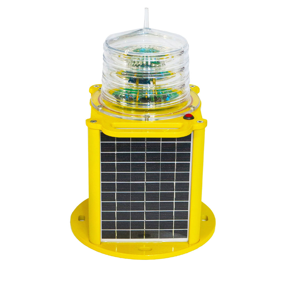 GS-LS/SJ GPS Sync with Remote Monitoring solar beacon light