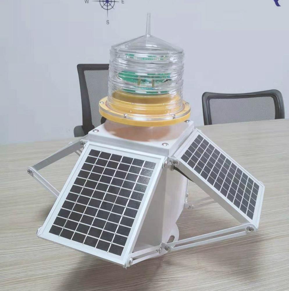 GS-LS/B 4sets solar panel angel adjusted solar marin light 6nm