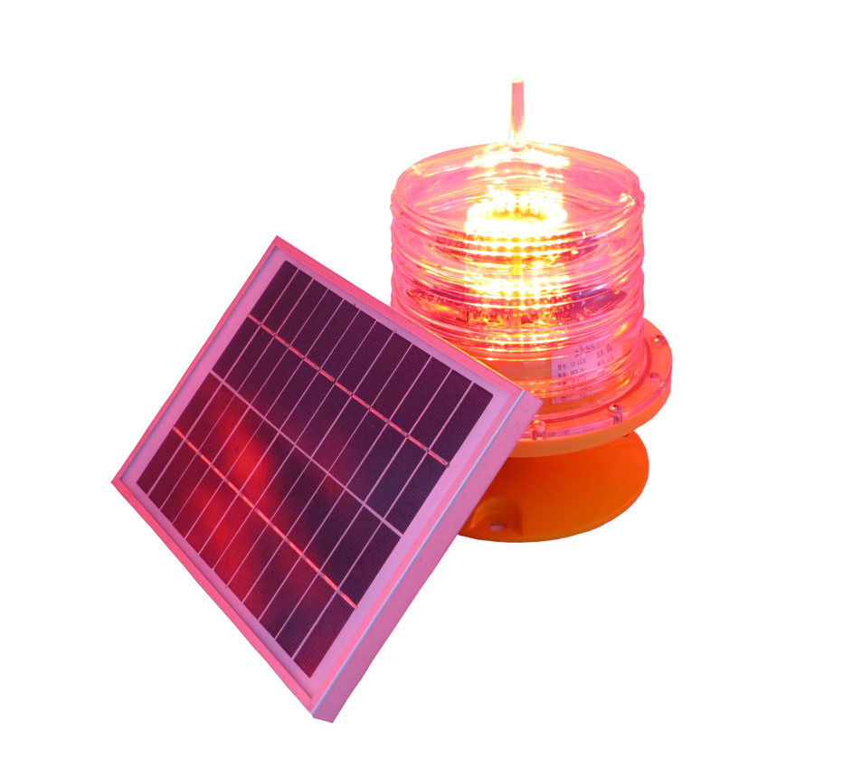 5NM solar marine navigation light self contain durable battery