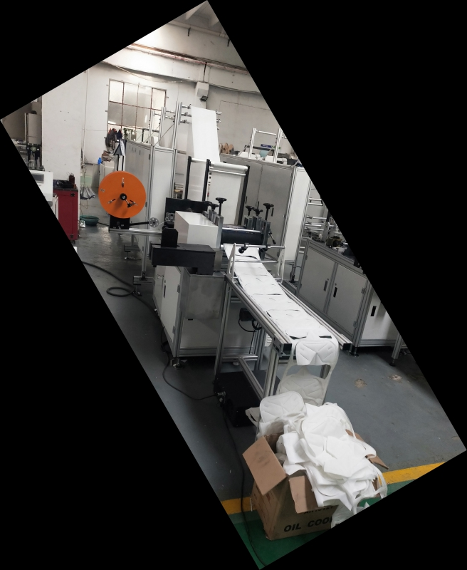 KN95 Face Mask Making Machine