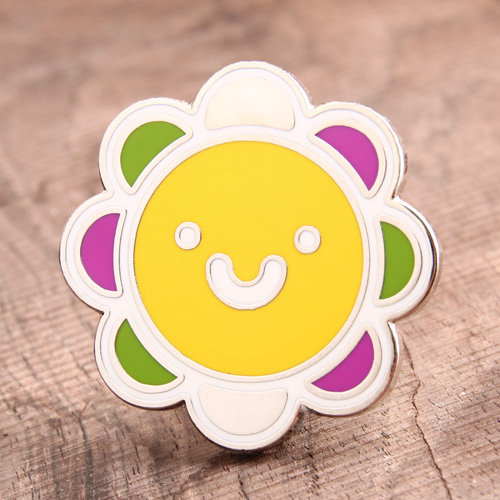 Sun Flower Lapel Pins