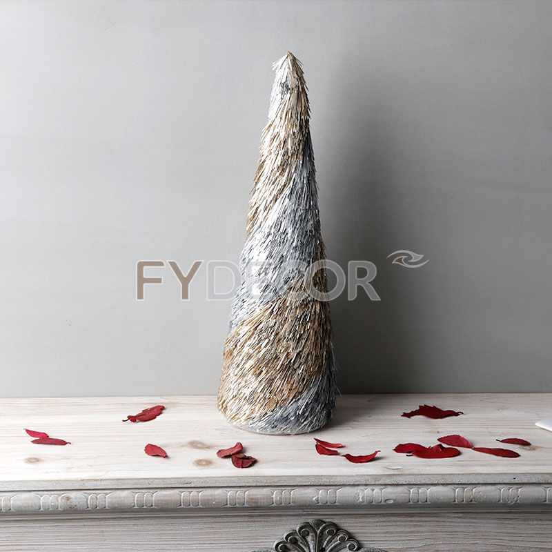 Christmas Cone Tree Desk Top Decorative Mini Trees