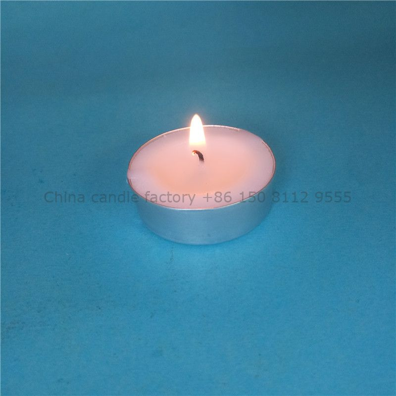Long burning smokeless tealight candle