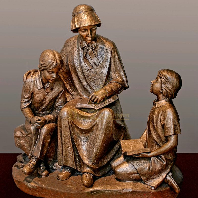 Religious Church Sculpture Of Saint Elizabeth Ann Seton