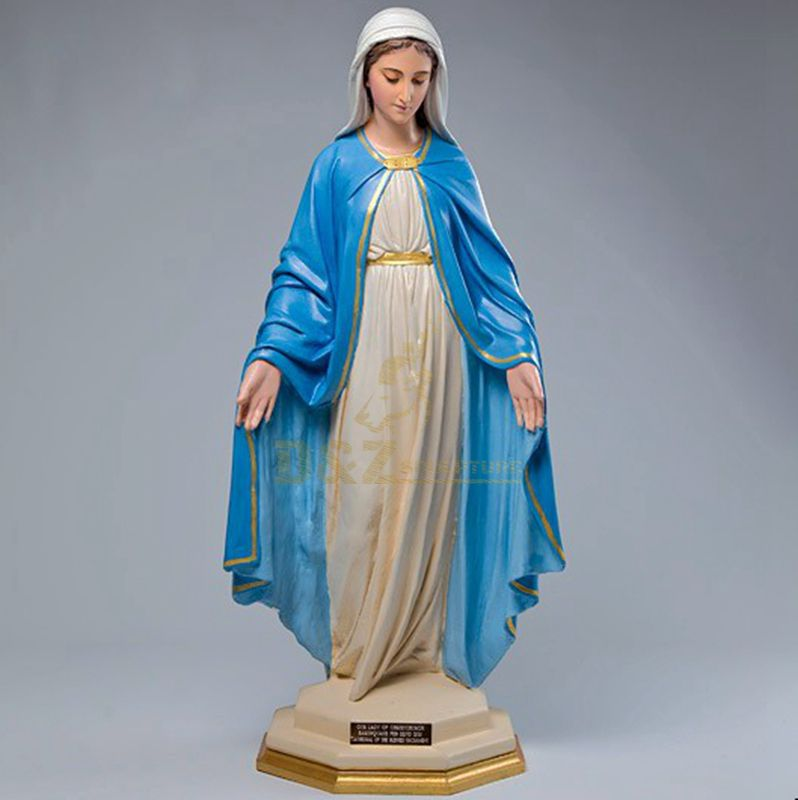 Garden Decoration Religious Craft Fiberglass Virgin Mary Statue