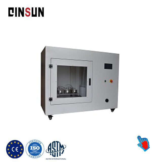 ISO 22612 Dry microbial penetration resistance tester