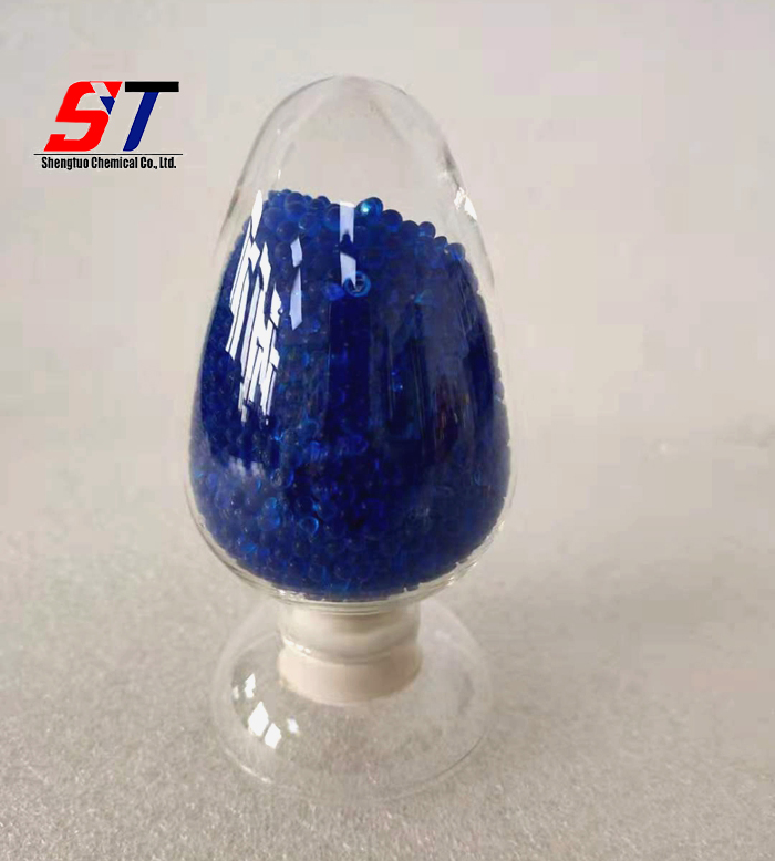 Blue White Orange Color Desiccant  Silica