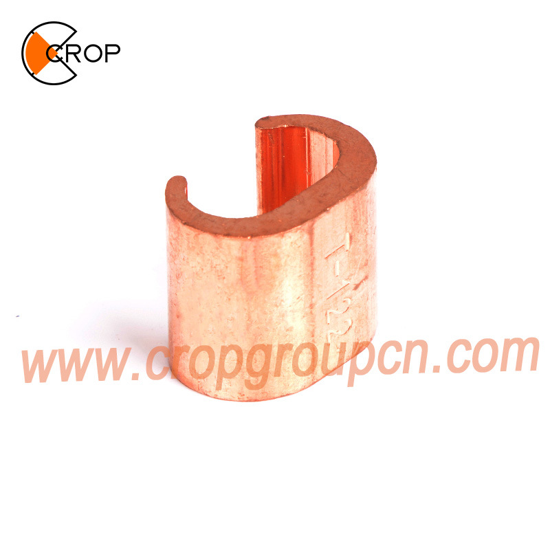 CCT Power Pipe Clamp Fitting Electric Cable Earthing Copper C Clamp