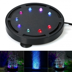 Aquarium Air Stone Bubbler Stone with LED Light