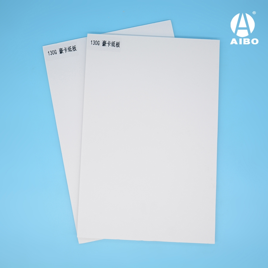 White Paper Foam Board 5mm PS Foam Sheet for Advertising