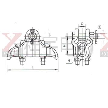 XGH Bag Type Suspension Clamp