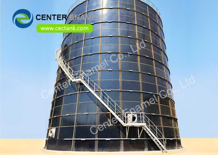 Expandable Glass Fused To Steel Liqud Storage Tanks Made Of ART 310 Steel Plate