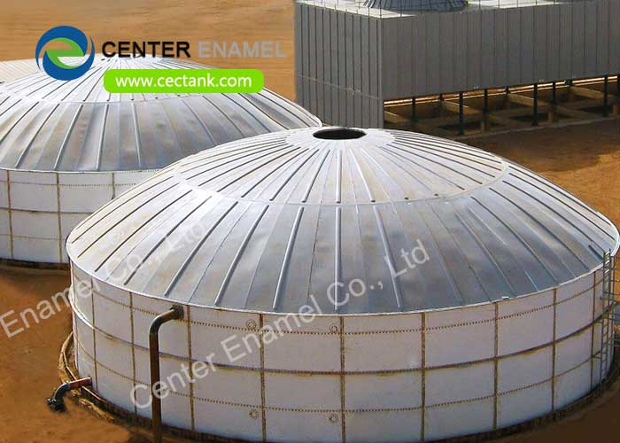 Leachate Storage Tanks For Landfill Leachate Treatment Project in JiangSu China