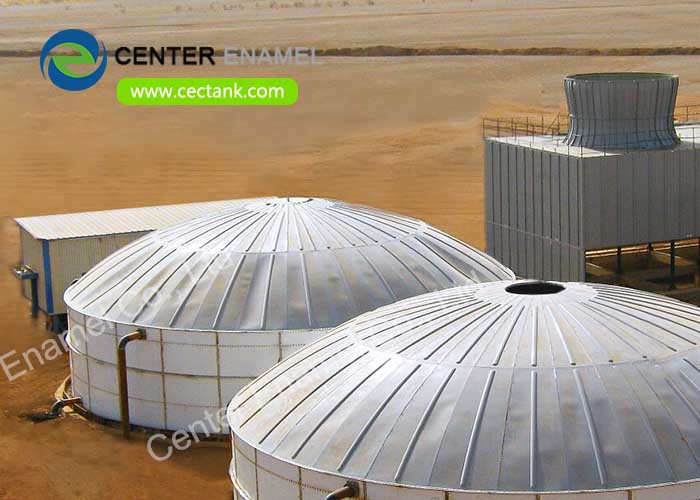 Glass Lined Steel liquid storage tanks