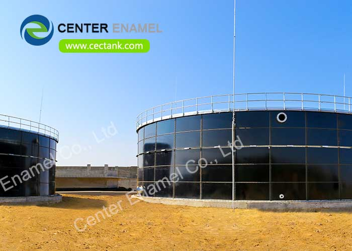 Glass lined steel tanks Tanks For 200 000 Gallon Fire Protection Water Storage