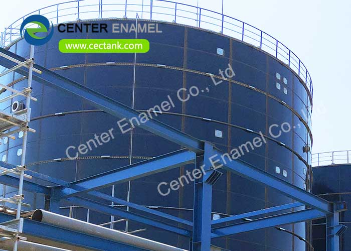High-quality Glass Lined Steel Tanks with AWWA D103 / EN ISO28765 Standard