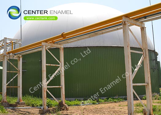 Glass-Fused-to-Steel Agriculture Water Tanks For Cow Plant.