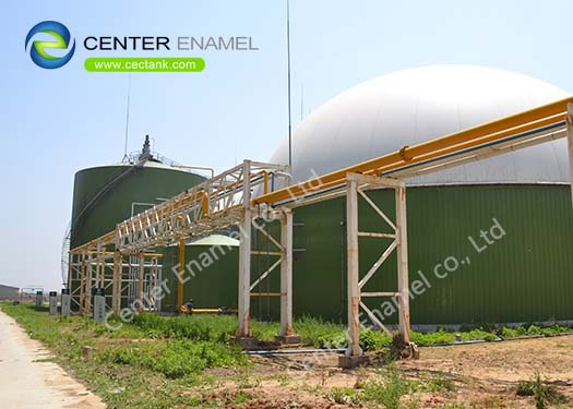 Glass-Fused-to-Steel fire protection water storage tanks manufacturer in China