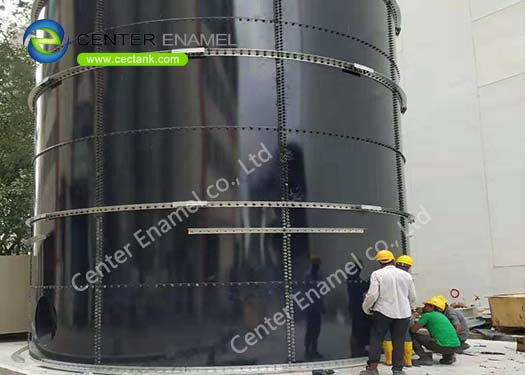 High air tightness Biogas  Tanks With Capacity From 20m3 - 18000m3