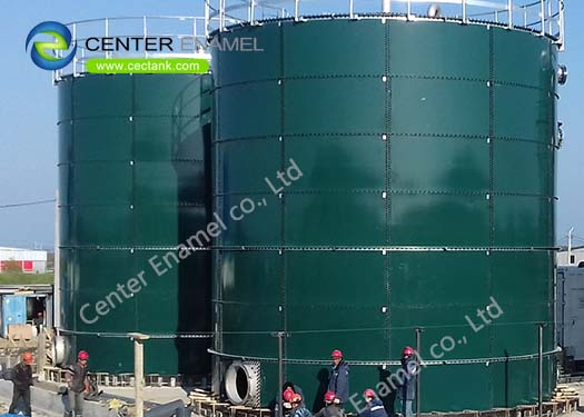 NSF 61 Approved Bolted Steel Tanks for Potable Water Storage