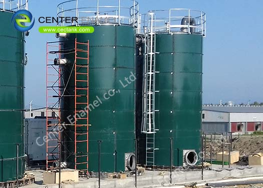 Removable and Expandable Bolted Steel Biogas Storage Tanks for Biogas Digestion Projects