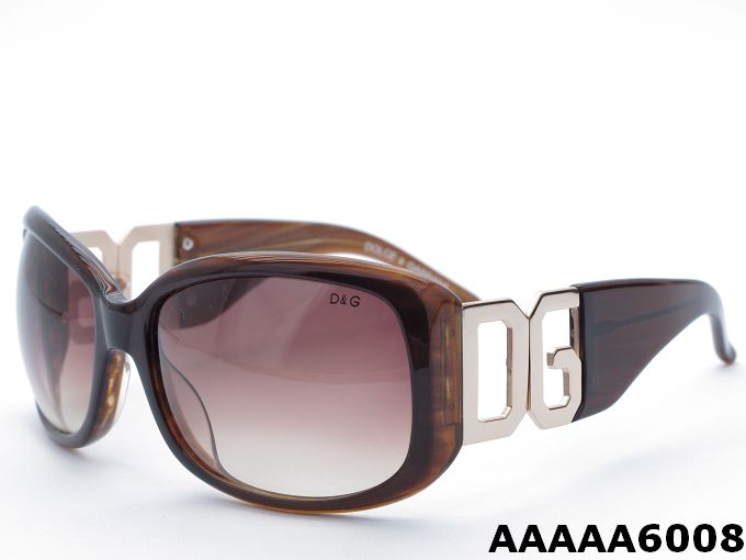 D&G 6008 Coffee Frame Sunglasses