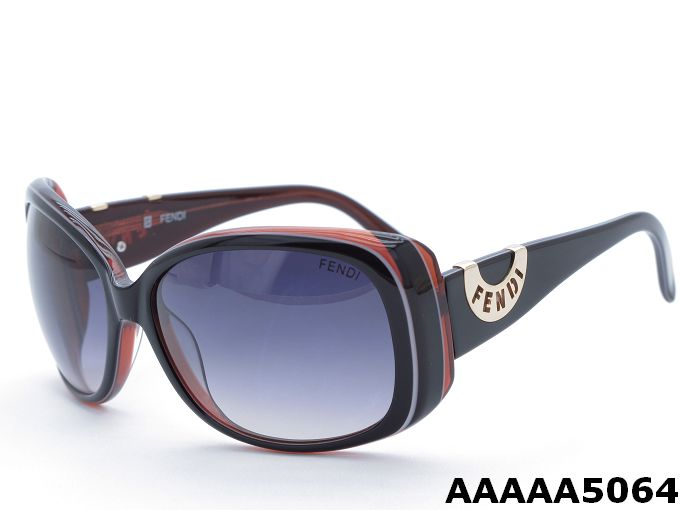 Fendi FD5064 Black And Coffee Frame Sunglasses