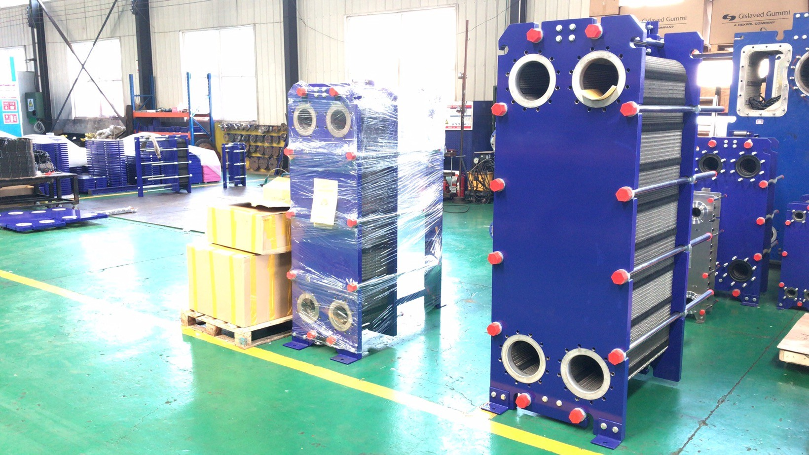 alfa laval Refrigerant Semi welded plate heat exchanger factory wholesale price