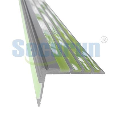 Photoluminescent Aluminum Stair Nosing