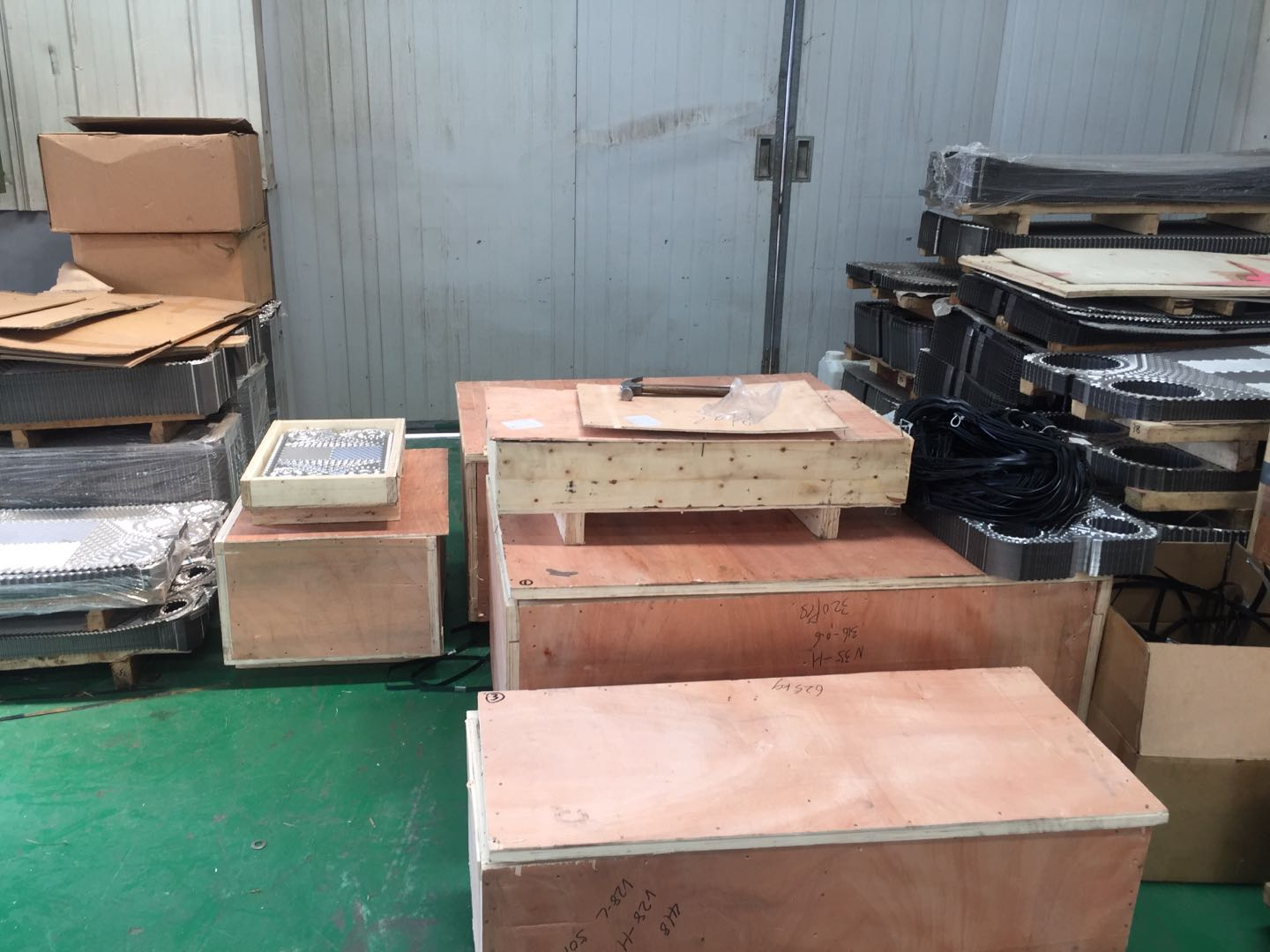 tranter ss304 semi welded plate heat exchanger PHE plates manufacturer
