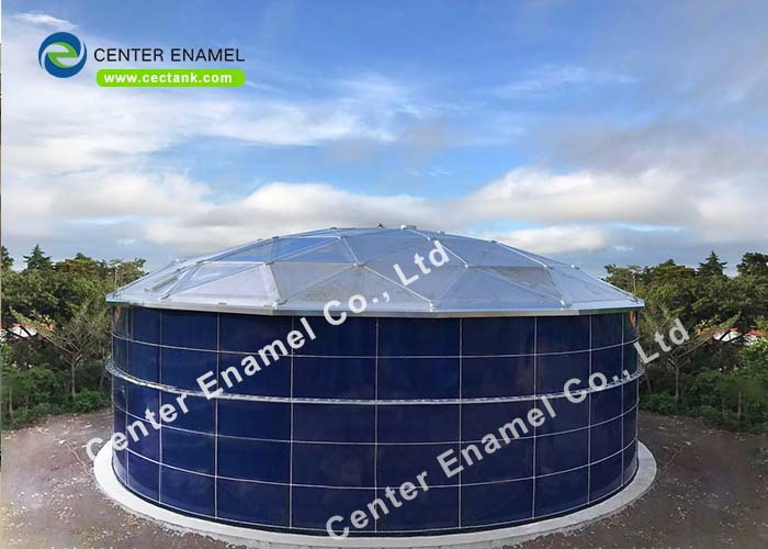 Center Enamel provides high-quality sludge storage tanks for more than 30 years