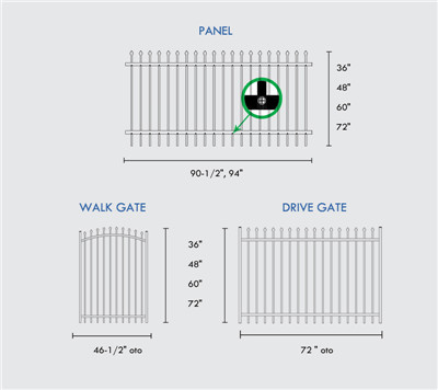 Weather Resistant Fence