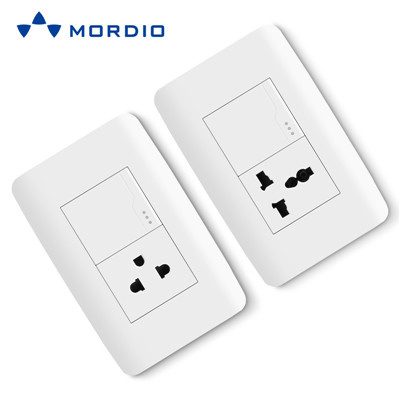 N1.6 Wholesaler supply oem/odm new design electrical modular US standard light switch and socket 10AX 125V/250V