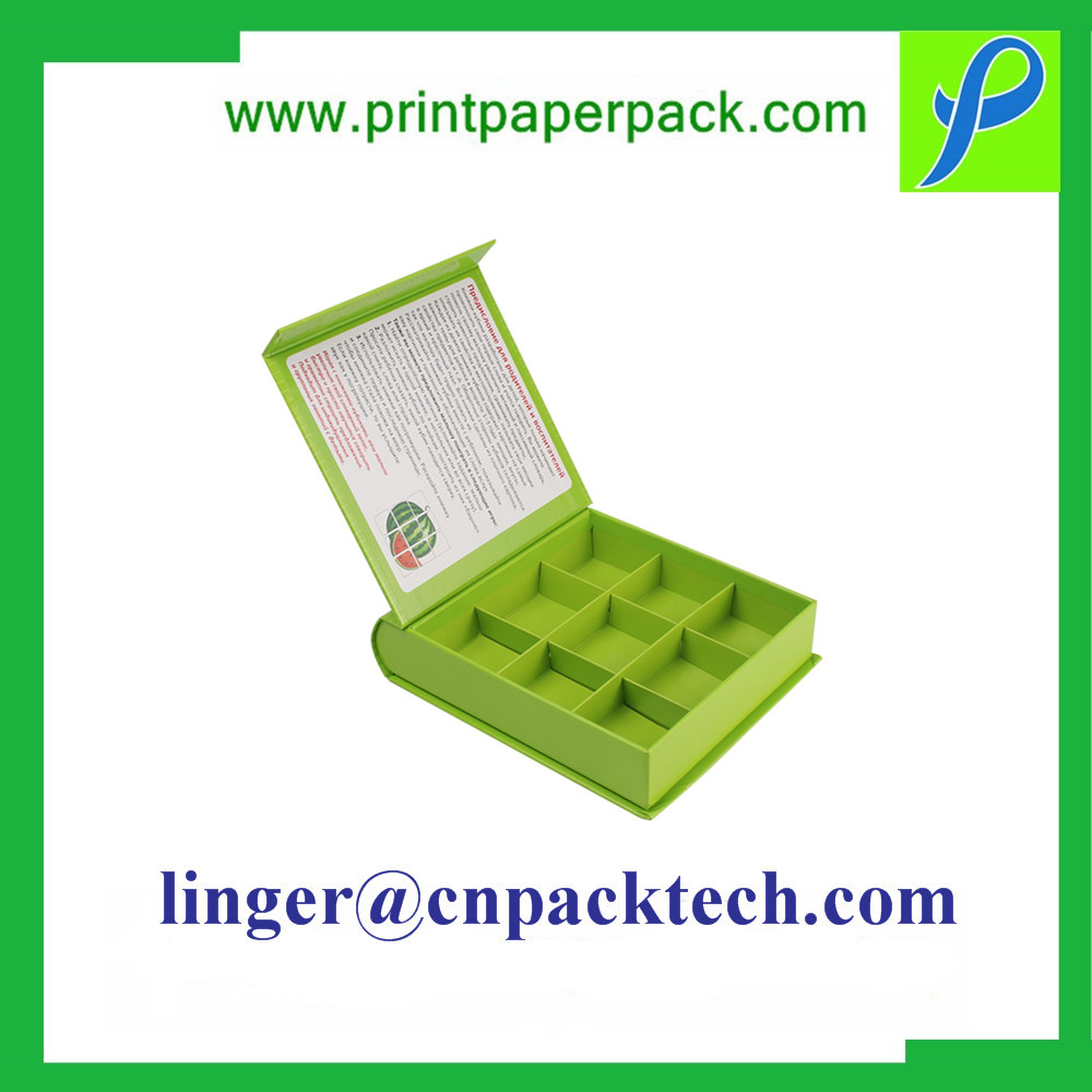 Custom Flip Coated Paper Gift Paper Box