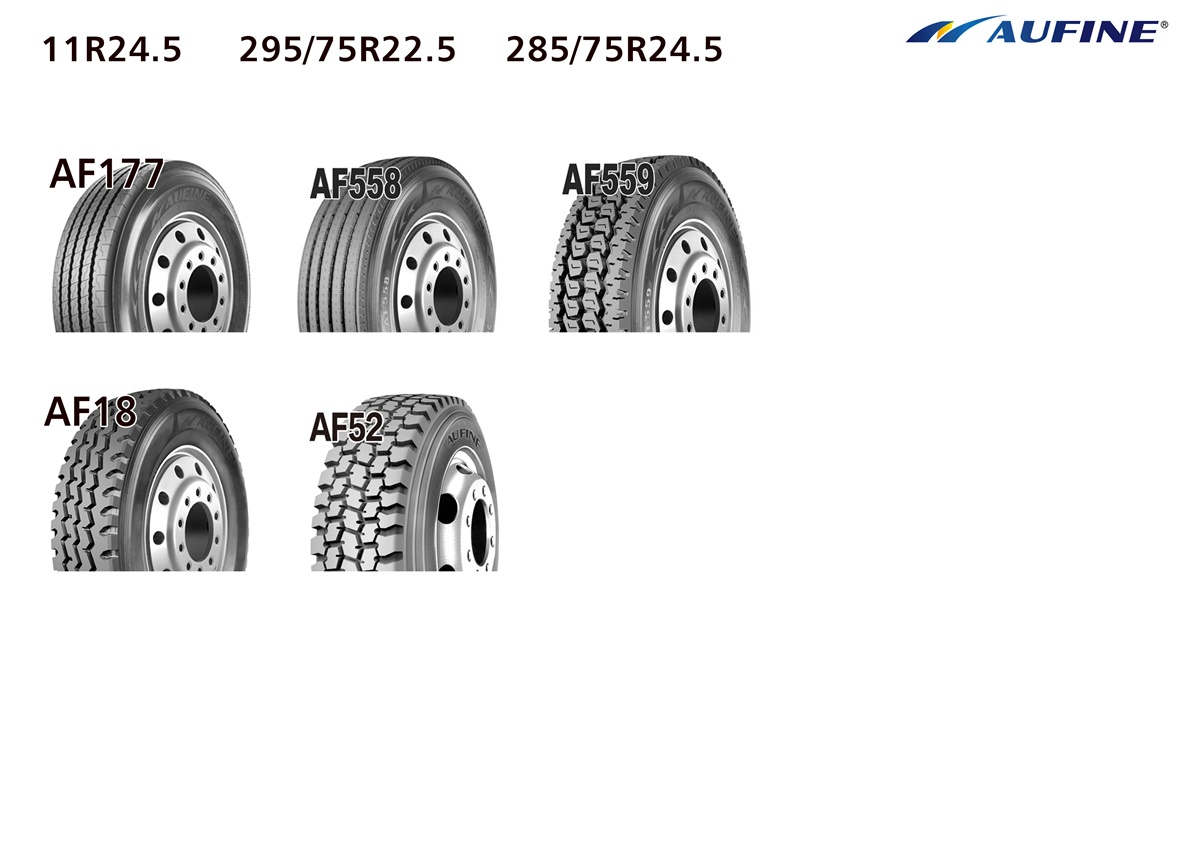 AUFINE Top brand Reliable Quality 13R22.5 Truck Tyre