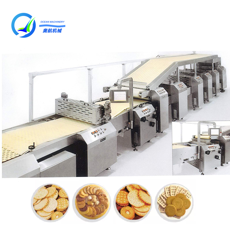2020 year hard and soft biscuit production line